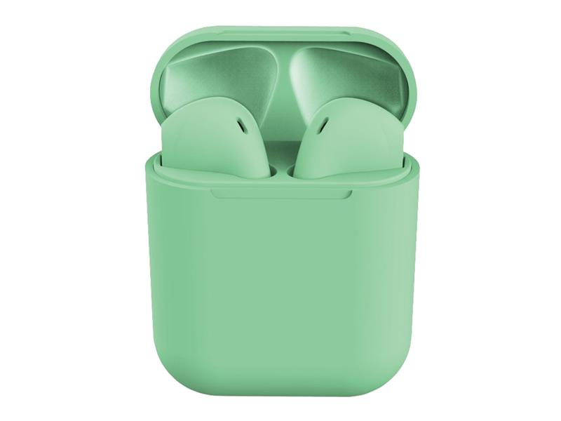 Sluchátka Bluetooth TWS I12 zelené