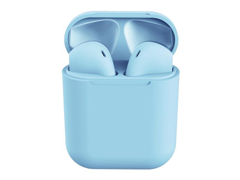 Sluchátka Bluetooth TWS I12 modré
