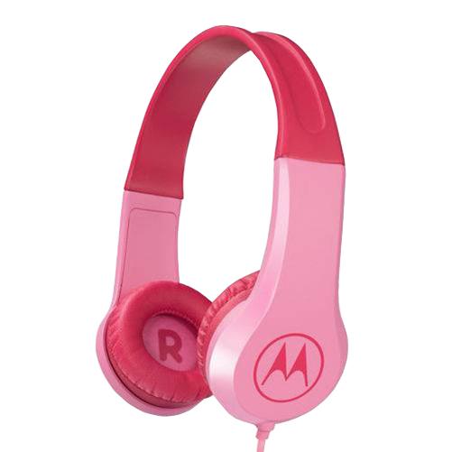 Sluchátka dětská Motorola Squads 200PK růžová