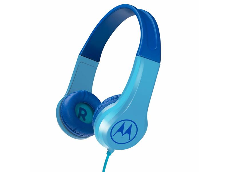 Sluchátka dětská Motorola Squads 200BL modrá