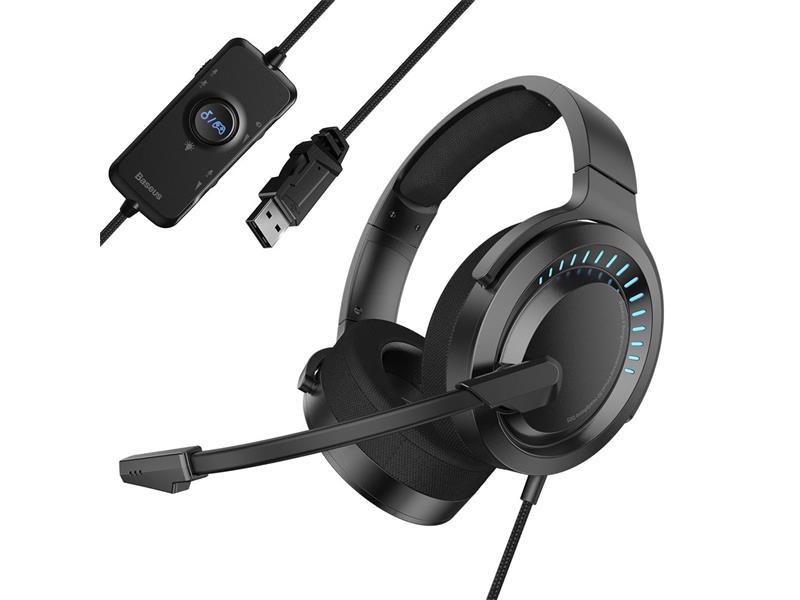 Sluchátka BASEUS GAMO NGD05 černé