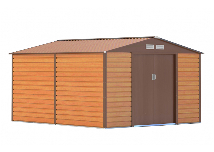 Domek zahradní G21 GAH 884 277 x 319 cm BROWN