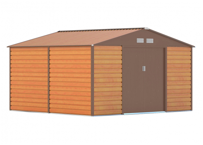 Domek zahradní G21 GAH 1085 340 x 319 cm BROWN
