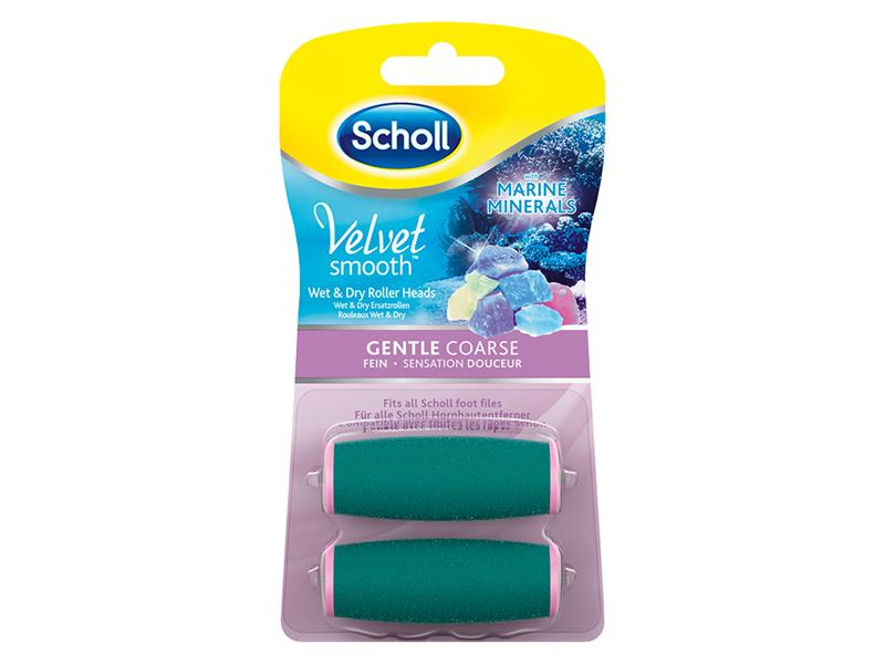 Hlavice SCHOLL VELVET SMOOTH WET & DRY 2ks
