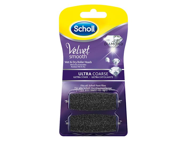 Hlavice SCHOLL VELVET SMOOTH ULTRA DIAMOND 2ks