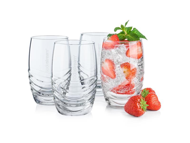 SodaStream Sada 4 designových sklenic