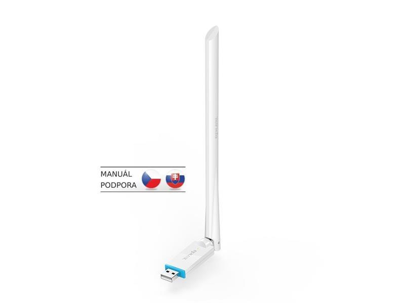 Adaptér s anténou WiFi USB TENDA U2