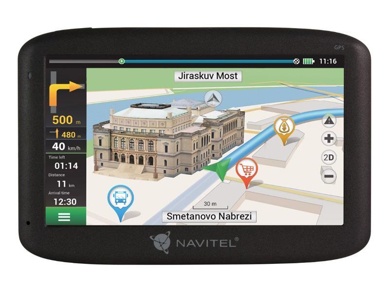 GPS navigace NAVITEL MS400