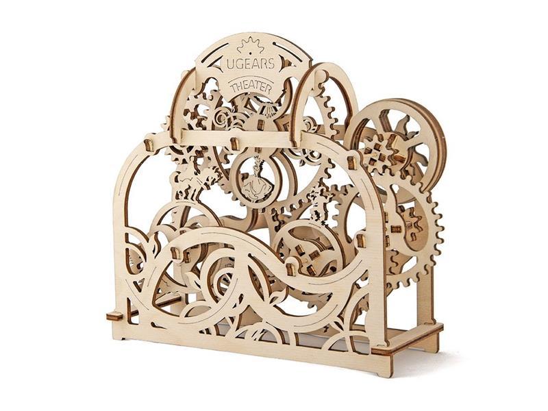 Puzzle 3D MECHANICKÉ PUZZLE DIVADLO