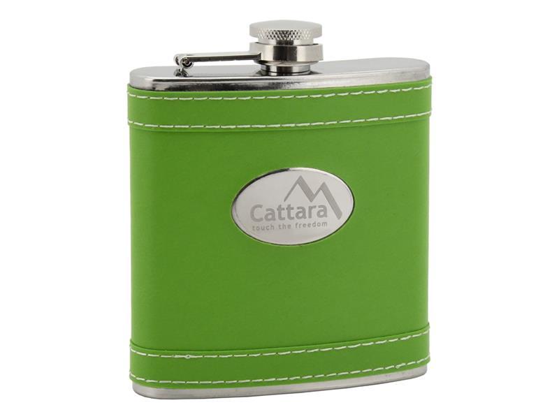 Lahev placatka zelená CATTARA 175ml