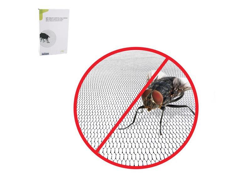 Síť proti hmyzu na okno ORION 130 x 150 cm černá