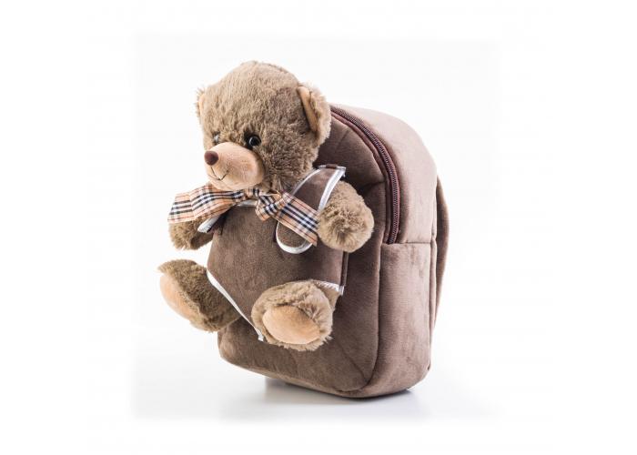 Dětský batoh G21 MEDVÍDEK BROWN