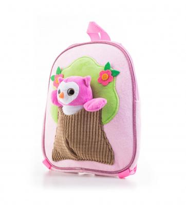 Dětský batoh G21 SOVIČKA PINK