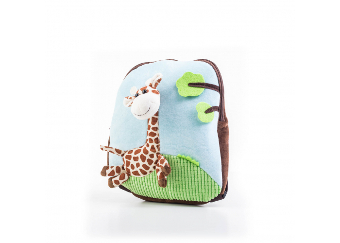 Dětský batoh G21 ŽIRAFA BLUE