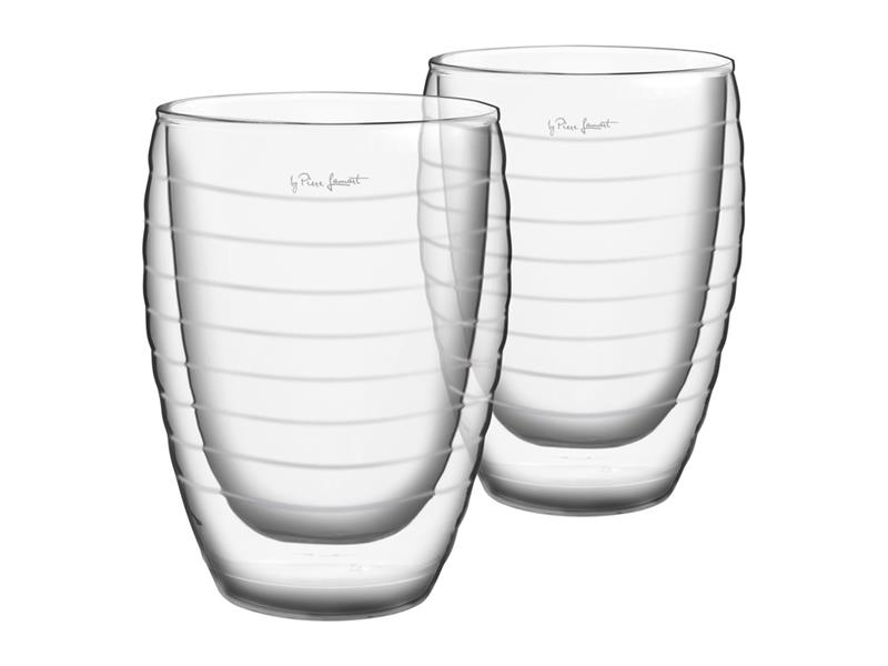 Sklenice juice 370ML VASO LAMART LT9013 SET 2KS
