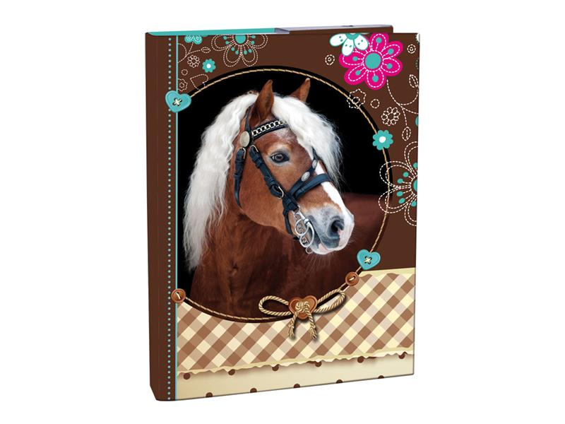 Box A4 s klopou Sweet Horse Stil