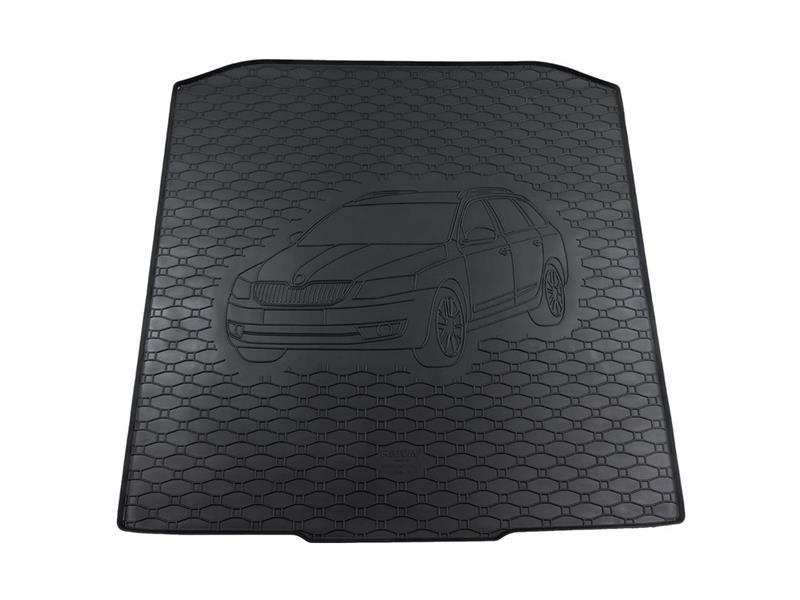 Vana do kufru gumová RIGUM Škoda Octavia III 2013- Combi