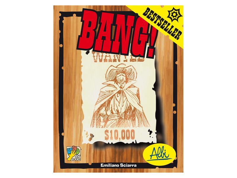 Hra karetní ALBI Bang! Základní hra