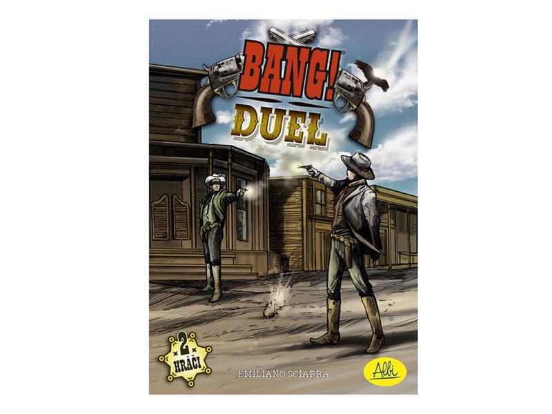 Hra stolní Albi Bang! Duel