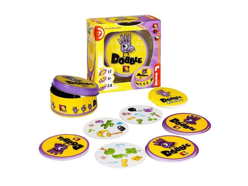 Hra stolní Dobble: Základní hra