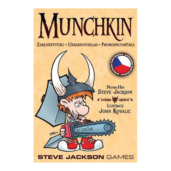 Hra stolní Munchkin