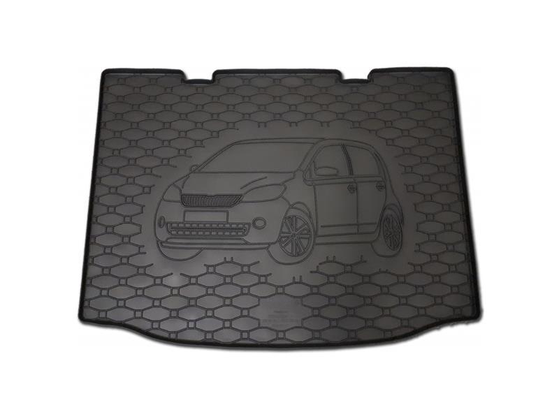Vana do kufru gumová RIGUM Škoda CITIGO 2011- dolní dno