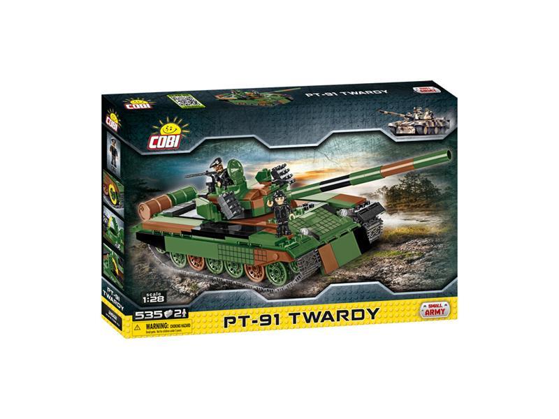 Stavebnice Small Army Tank PT91 Twardy, 535 k, 2 f