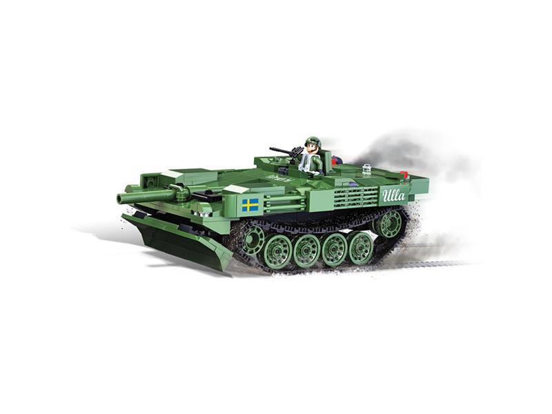 Stavebnice WOT Stridsvagn 103 (S-Tank), 515 k, 1 f