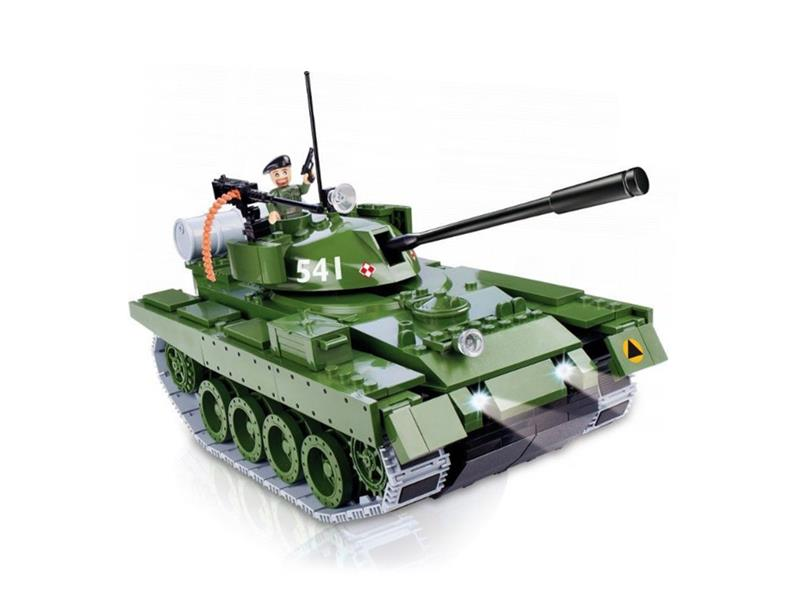 Stavebnice Cobi 21904 Tank T-72 (I/R a Bluetooth)