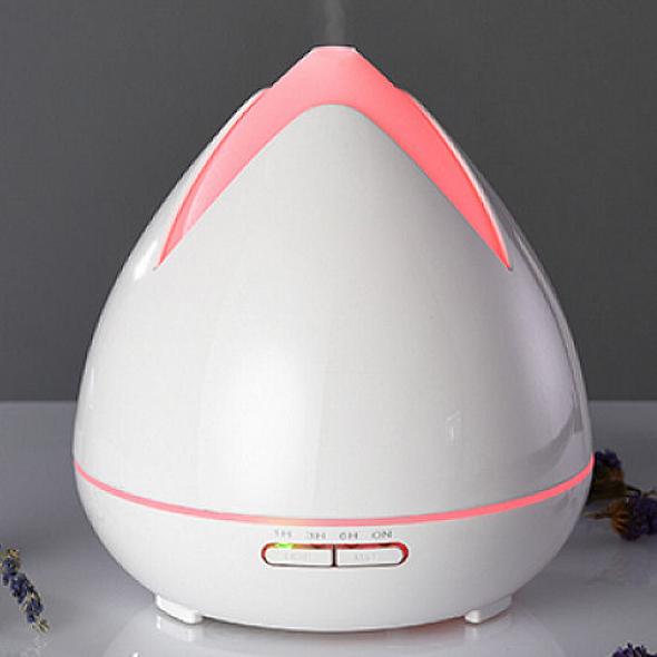 Aroma difuzér 02 bílý - ultrazvukový, 7 barev LED