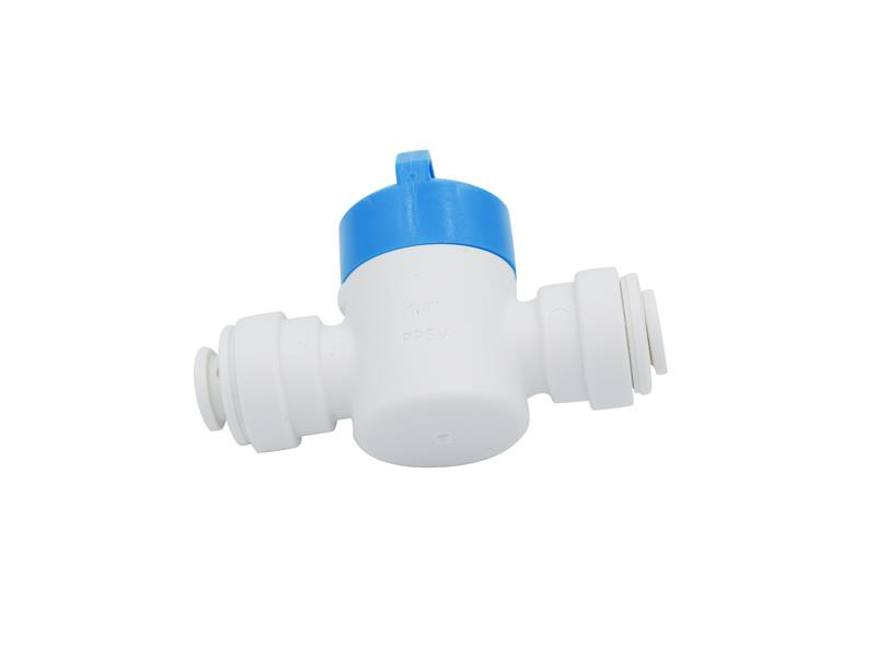 """Spojka na 1/4"""" hadičku ICEPURE s uzavíratelným ventilem"""