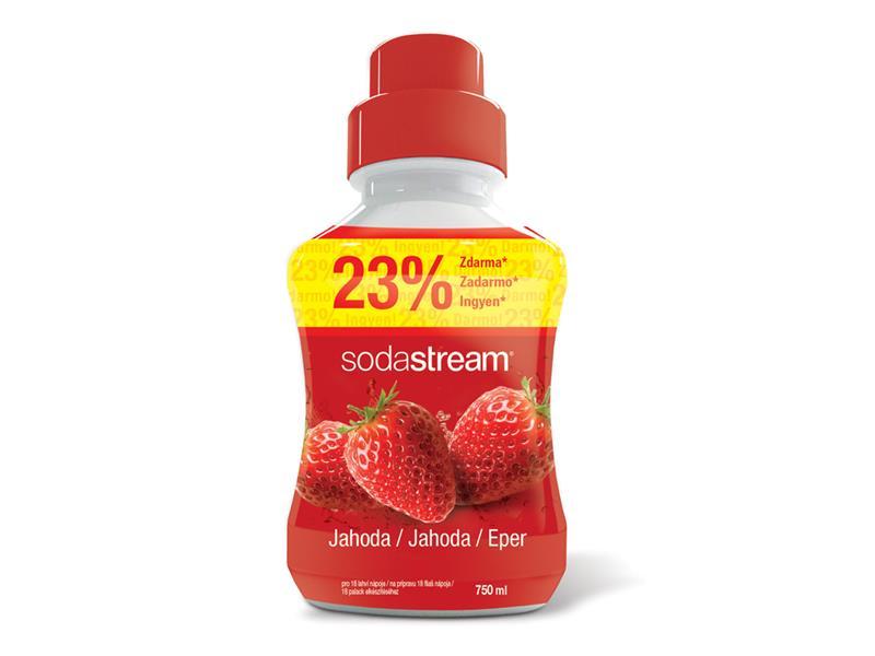 Sirup SodaStream jahoda 750ml