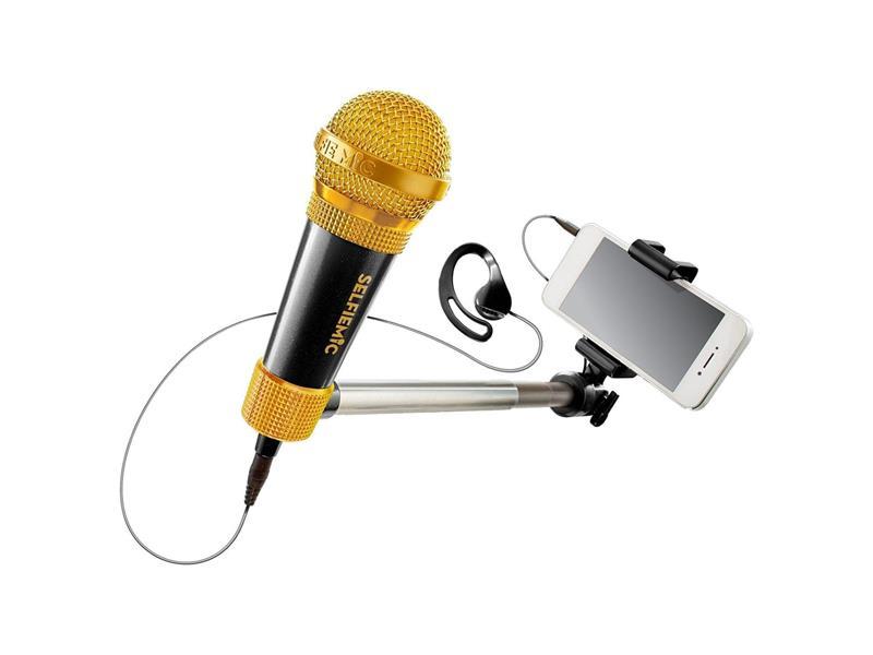 Selfie mikrofon ADC BLACKFIRE černý