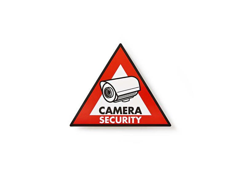 Samolepka výstražná NEDIS CAMERA 5ks