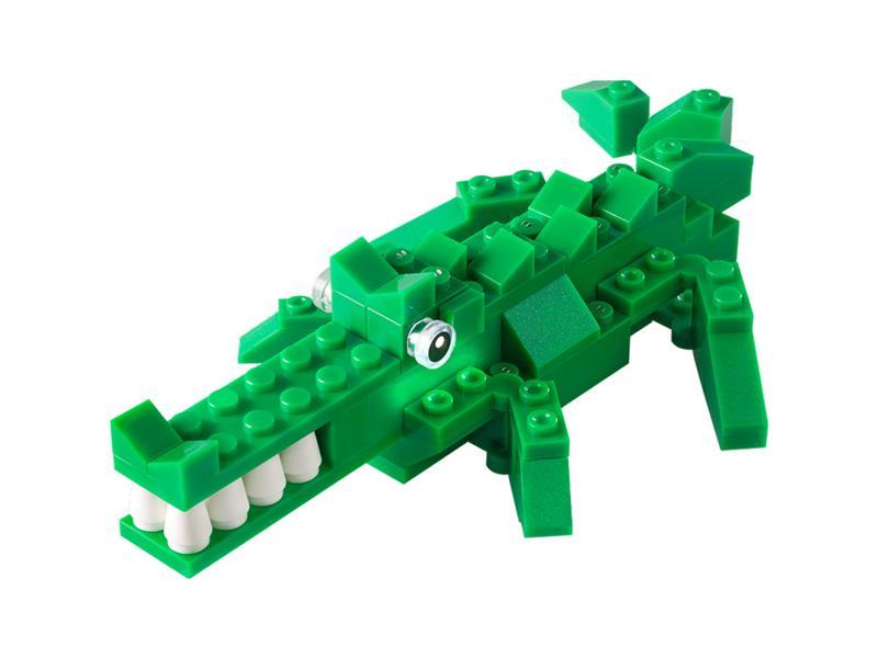 Stavebnice LIGHT STAX HYBRID SNAPPING CRODODILE kompatibilní LEGO