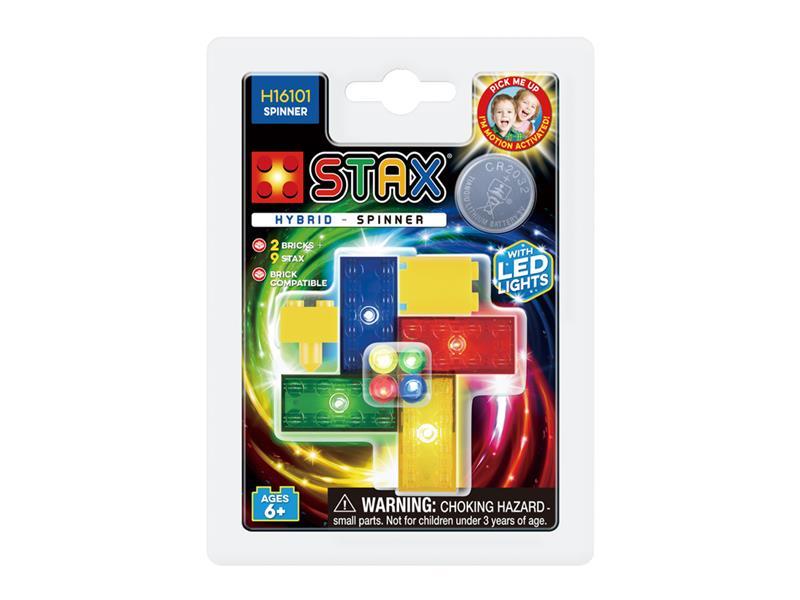 Stavebnice LIGHT STAX HYBRID SPINNER kompatibilní LEGO