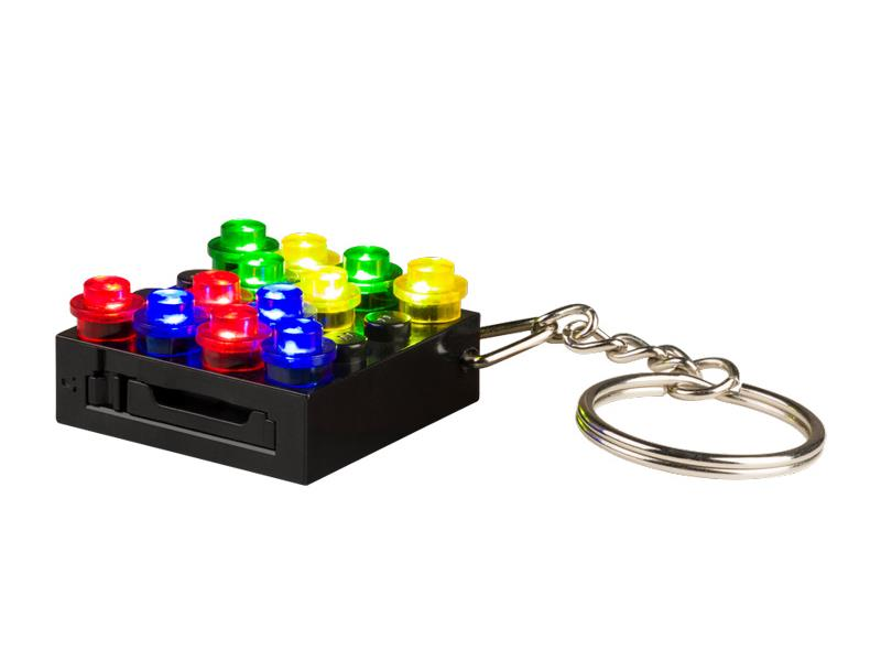 Stavebnice LIGHT STAX HYBRID KEYCHAIN kompatibilní LEGO