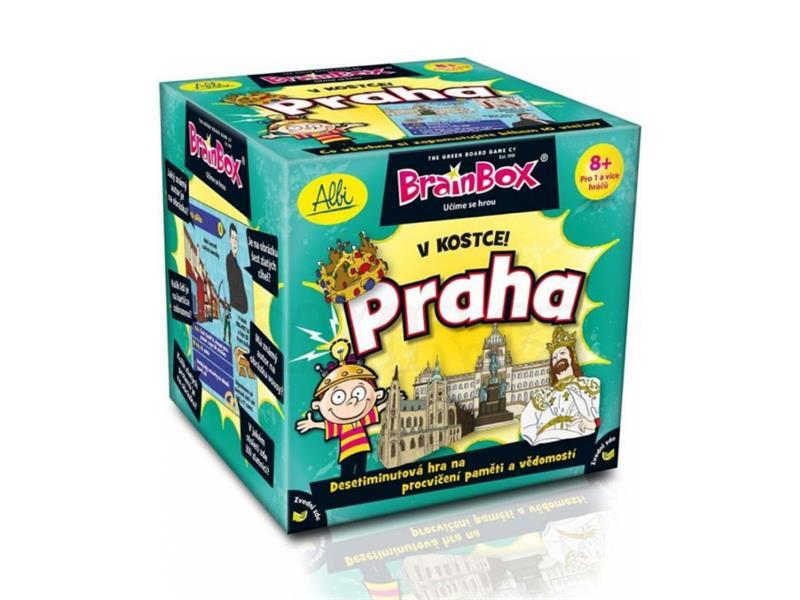Hra stolní Albi V kostce! Praha