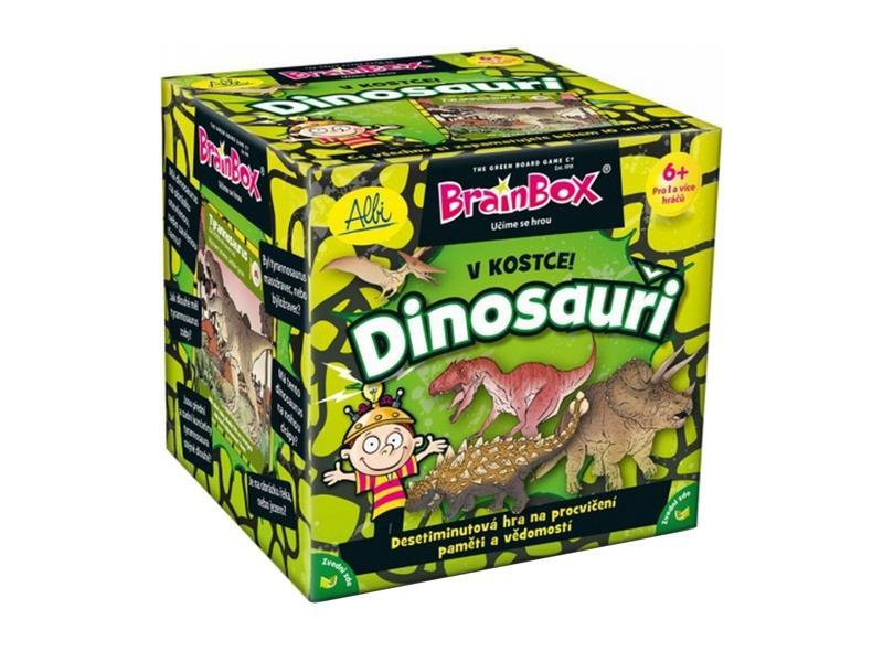 Hra stolní Albi V kostce! Dinosauři