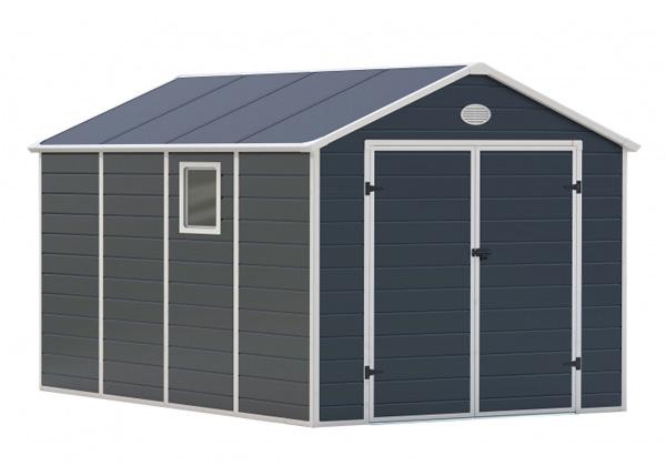 Domek zahradní G21 PAH 882 241 x 366 cm PLAST GREY