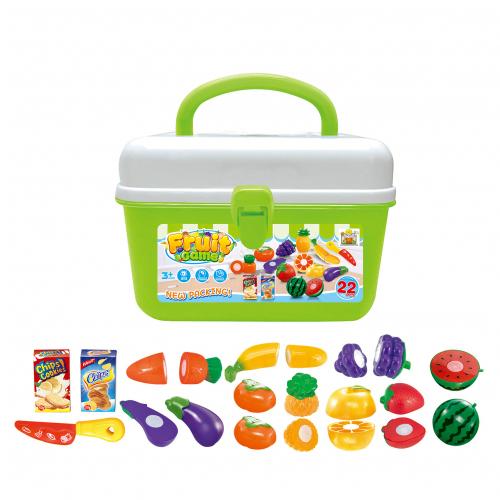Dětský kufřík s ovocem a zeleninou G21