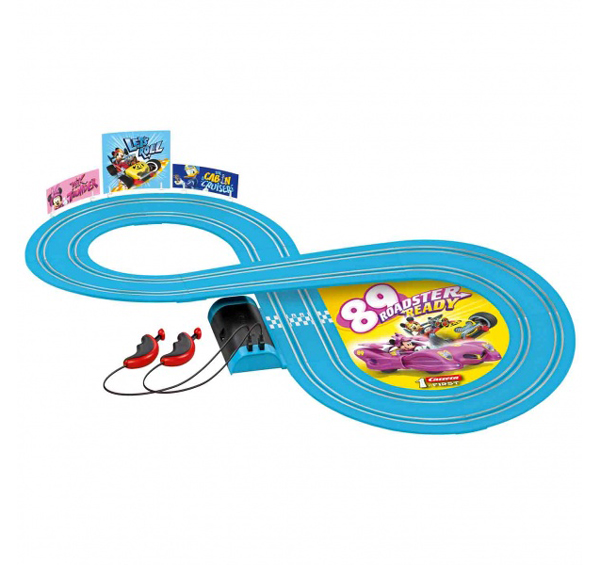 Autodráha CARRERA FIRST MICKEY RACERS 63019