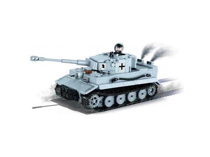 Stavebnice COBI World of Tanks Tiger I 545 k, 1 f