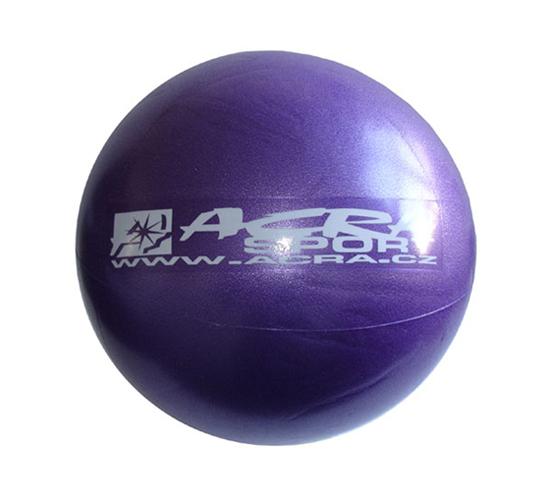 Míč ACRA S3221 OVERBALL fialový