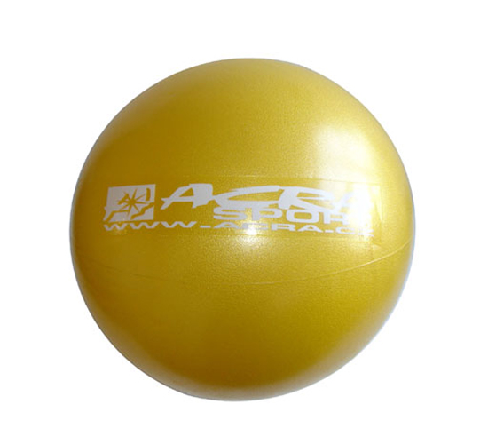 Míč ACRA S3221 OVERBALL žlutý