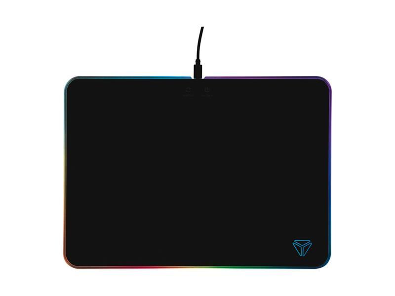 Podložka pod myš YENKEE RGB YPM 3005 SHIELD herní