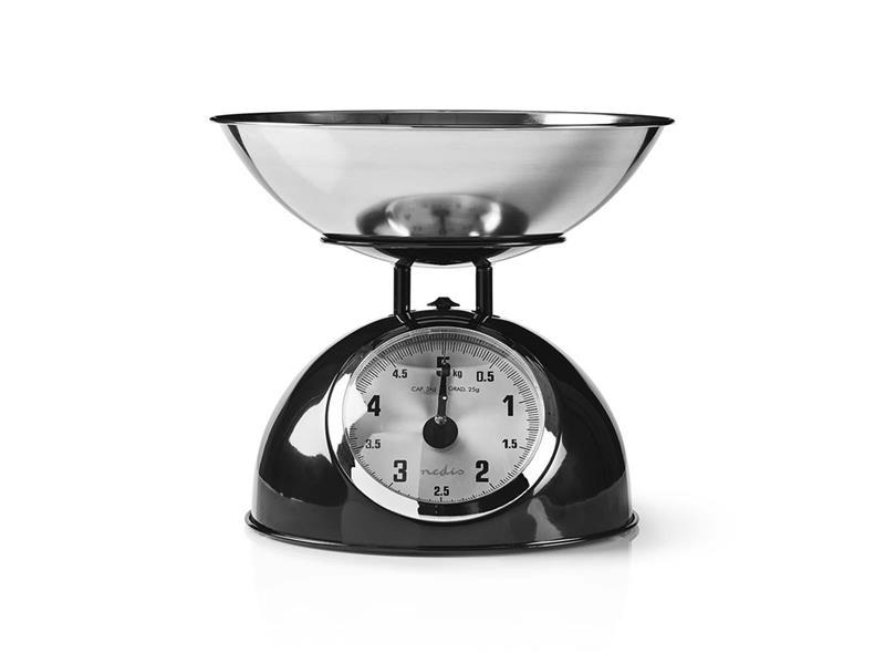 Váha kuchyňská NEDIS KASC110BK BLACK