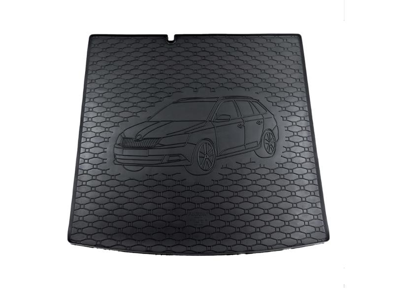 Vana do kufru gumová Rigum Škoda Fabia III Combi 2014- dolní dno