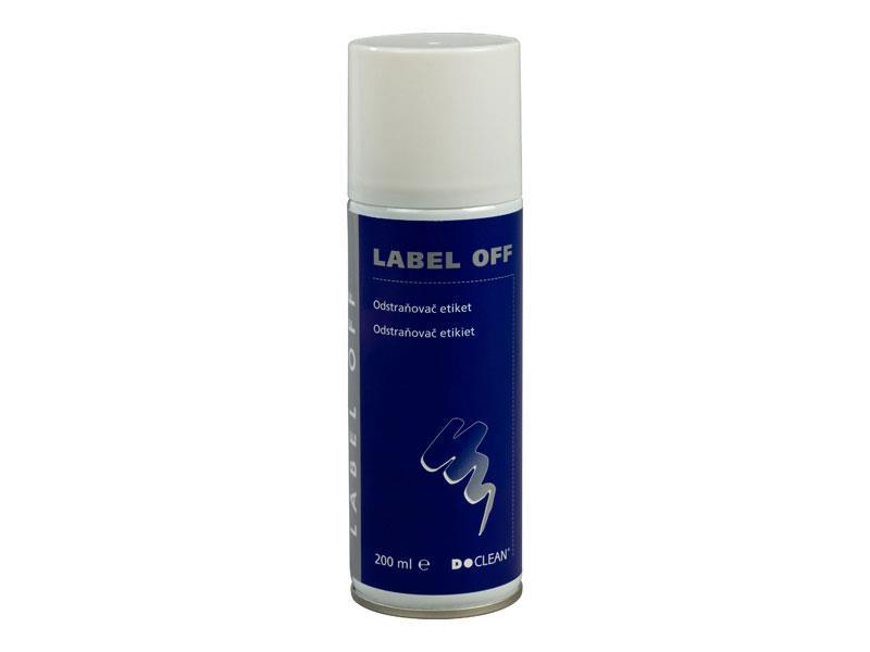 Odstraňovač etiket D-CLEAN LABEL OFF 200 ml