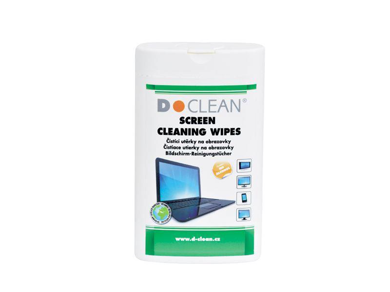 Utěrky čistící D-CLEAN D-14 na monitory